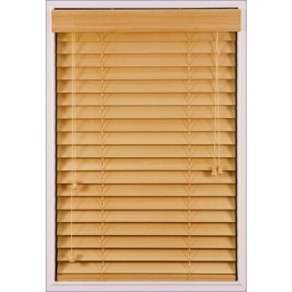 2 deluxe faux wood blinds. Black Bedroom Furniture Sets. Home Design Ideas